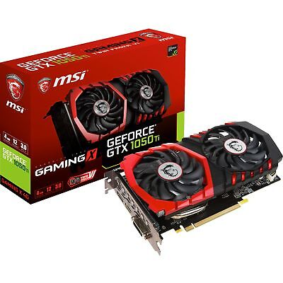 MSI GeForce GTX 1050 Ti Gaming X 4G, Grafikkarte