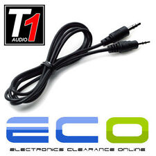 T1 Audio T1-J2J 1M Metre 3.5mm Jack To Jack 3.5 Aux In MP3 Ipod Car Stereo Cable