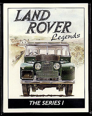 LAND-ROVER SERIE I Legends 1948-58 Collezionisti Scheda Set-Hard SOFT TOP pick-up