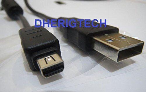 OLYMPUS mju725 SW cámara USB Data Sync Cable//Plomo Para PC Y MAC