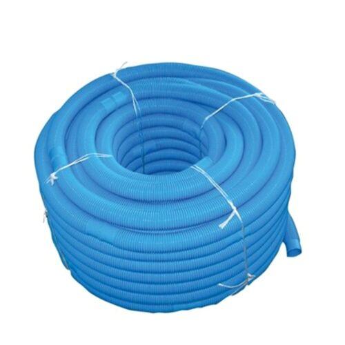 Poolschlauch Schwimmschlauch d = 38mm für Pool Schwimmbad blau 15 mtr