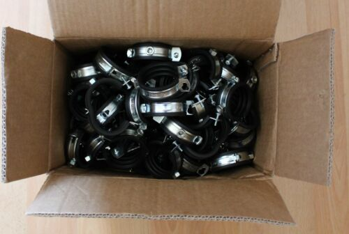 50 100 25 Rohrschellen Gelenkrohrschelle Schellen 1.tlg Sparpack