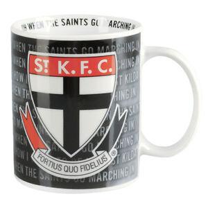 St-Kilda-Saints-AFL-Team-Song-Coffee-Mug-Cup-AFL-OFFICIAL-MERCHANDISE