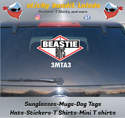 logo full color indoor//outdoor Vinyl Sticker Decal Beastie Boys