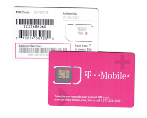 LOT of 100 Newest T-Mobile Sim Card Unactivated/4G LTE 3IN1
