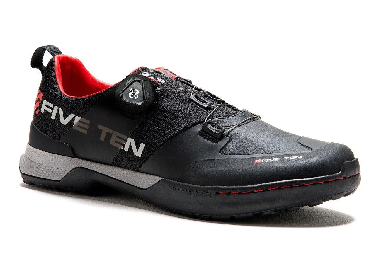 FIVE FIVE FIVE TEN KESTREL SCARPE MTB  colore Team nero scarpe 8cd627