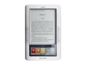 New-Barnes-amp-Noble-BNRZ100-3G-Wi-Fi-Nook-E-Book-Reader-White-Gray