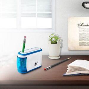 Electric-Automatic-Pencil-Sharpener-Quiet-Motor-Desktop-Battery-Operated-School