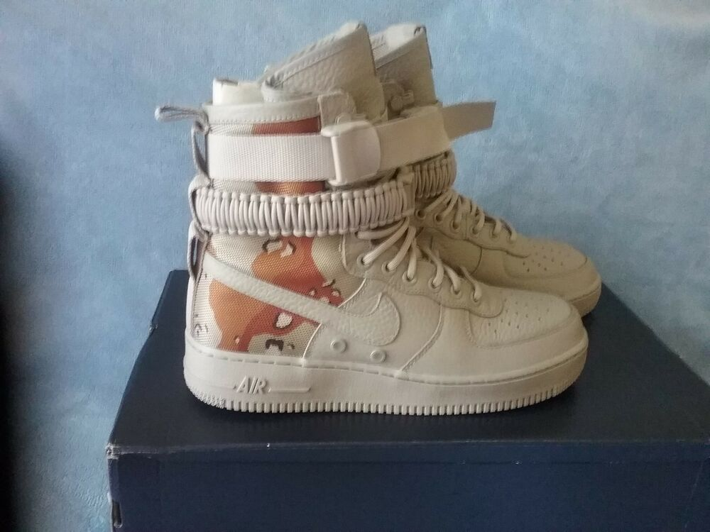 Mens Nike Air Obliger 1 Special Field SF AF1 Desert Camo 864024-202 Taille 11.5