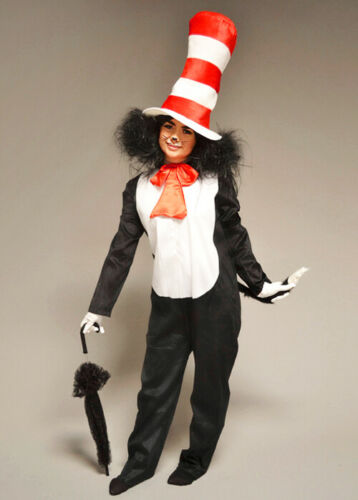 Adult Size Cat In The Hat Style Costume