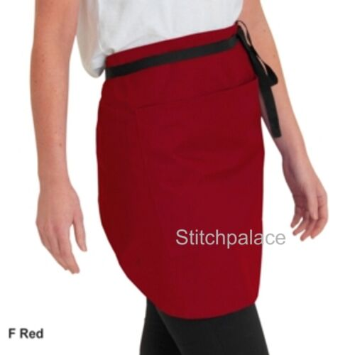 Denny/'s wrap-over taille tablier avec sangle bandes rouge /& 7 couleurs 97-46 cms