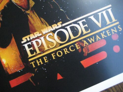 """11/"""" x 17/"""" Movie Collector/'s Poster Print Star Wars// the force awakens B2G1F"""