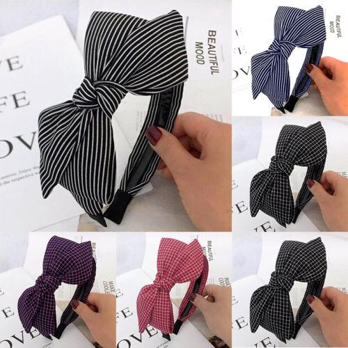 Headwear Leopard Bow Hairband Accessories Girls Hair Band Ladies Headband