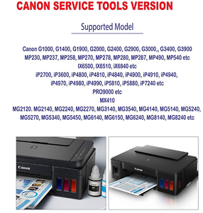 Details about RESET CANON ST v 4905, G2100 3100 G4100 G4100,Unlimited 1PC  key, Emailed