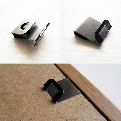 50x Picture Frame Back Board Photo Wall Artwork Sawtooth S Clip Over Hanger Hook Ebay