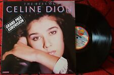 CELINE DION ***The Best Of*** VERY SCARCE 1988 Spain LP ON SANNI RECORDS LABEL