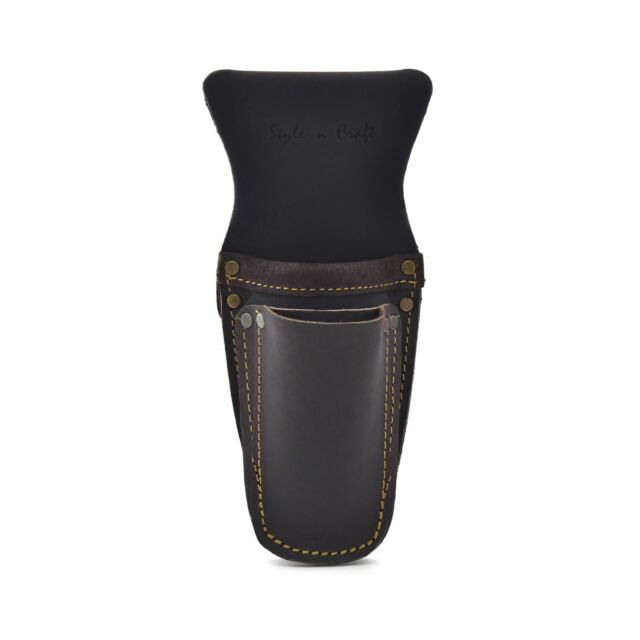 Pliers /& Hammer Holder in Heavy Top Grain Leather in Black Style n Craft 75450