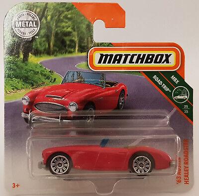 OVP Matchbox Neue Modellauto Austin Healey Roadster `63