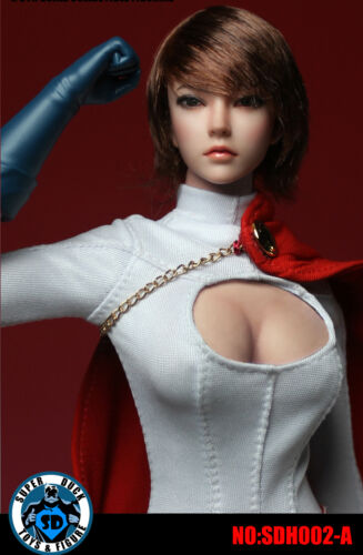1//6 Female Head Sculpt Short Hair For Phicen HotToys PALE Figure ☆USA☆ IN STOCK