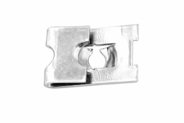 SPIRE CLIPS 'J' NUTS ZINC PLATED NO.12 QTY 50
