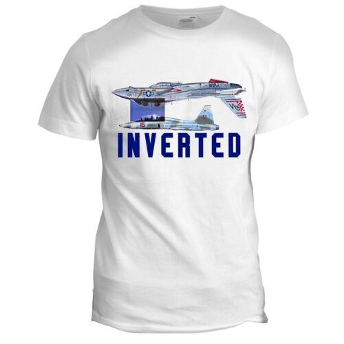 Top Gun Inspired Maverick Inverted Mig Movie Film 90s Tumblr RAF T Shirt