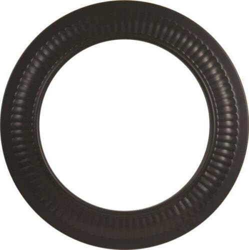 IMPERIAL BM0093 5 INCH BLACK STOVE PIPE HEAVY 24 GAUGE COLLAR TRIM RING 8595720