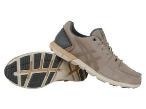 asics casual shoes brown