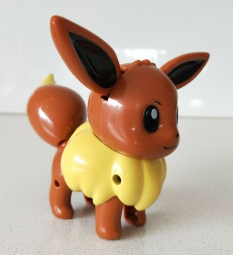 Original Pokemon New Without Tag Ears /& Tail Moves Eevee Winding Figure