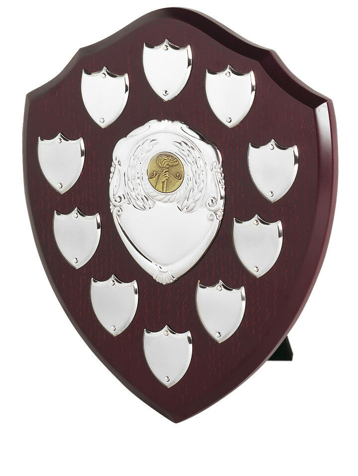 250mm  Annual, Perpetual Shield, 10 Year, FREE Engraving (SVP10)swt