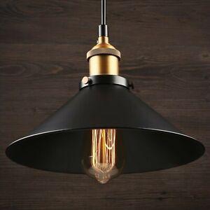 Details About Mini Pendant Lighting For Bar Kitchen Island Matte Black Industrial Fixture 1 Pc