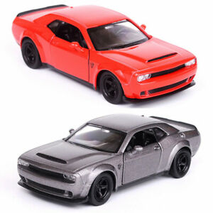 Dodge-Challenger-Equipo-de-Respuesta-Especial-Escala-1-36-Diecast-Coche-Modelo-Demonio-Regalo