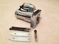 Chrome Mini High Torque Starter For Small & Big Block Chevy 305 350 454