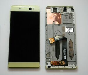 Original-Sony-Xperia-XA-Ultra-F3211-F3212-GREEN-LCD-Touch-Screen-Digitizer-Frame