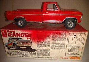 Vintage-Amt-Matchbox-Ford-Ranger-F-350-1-25-model-kit-PK-4611-Pickup-built