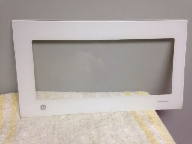 Ge General Electric Microwave Oven Door Glass Piece Wb36x10099