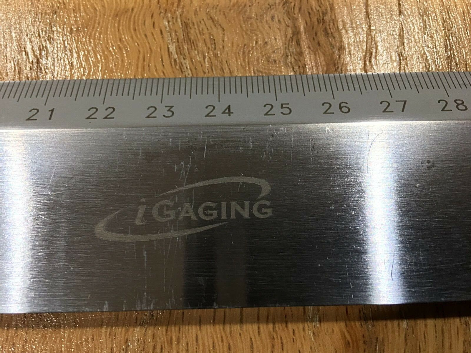 900mm iGaging Precision Straight Edge with Ruler (36-036-KS-M)