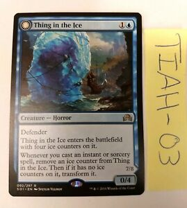 THING IN THE ICE AWOKEN HORROR Shadows Over Innistrad SOI Magic MTG MINT CARD