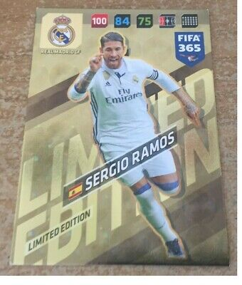 PANINI ADRENALYN XL FIFA 365 2018-Sergio Ramos #122 fans
