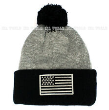 9f2ac92816b item 2 USA American Flag hat Stars-Stripes Pom Beanie Knit Cuffed Warm  Winter Ski cap -USA American Flag hat Stars-Stripes Pom Beanie Knit Cuffed  Warm ...