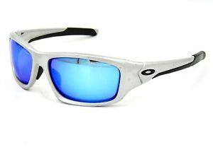 Oakley Valve OO9236 Polarized Sunglasses, Silver / Blue Mirror (Read !!)#26I