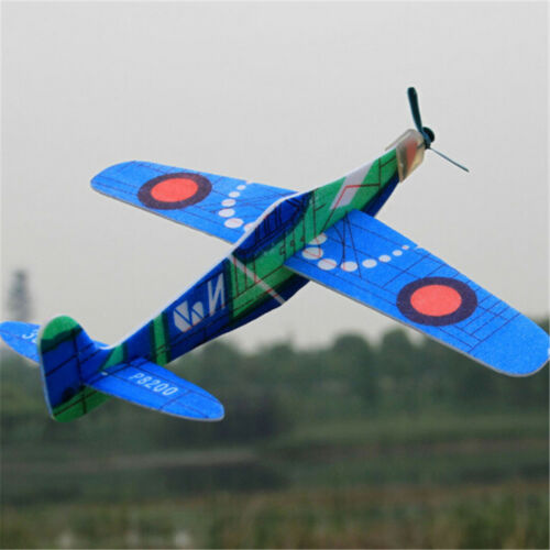 19cm Hand Throw Flying Gliders Planes Foam Airplane Party Bags FillersKidsToysHI