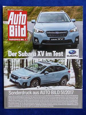 Logisch Subaru Xv 1.6i Boxer Sonderdruck Auto Bild 51/2017 Ideales Geschenk FüR Alle Gelegenheiten Test