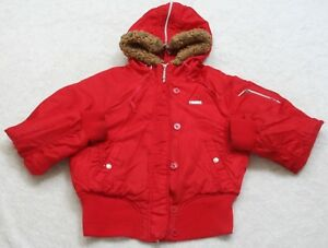 Hooded Jacket Coat Red Solid Size XL Southpole Women s Woman s Nylon ... 9a076ce11