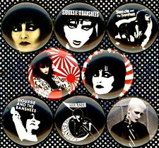 Siouxsie and the Banshees x 8 NEW 1 inch pins buttons badges sioux punk new wave