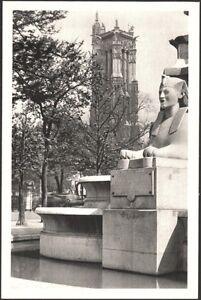 PARIS-LA-TOUR-SAINT-JACQUES-OLD-POSTCARD-1940-E-BAUDELOT-amp-CIE