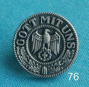 Gott-mit-uns-Adler-EK-Abzeichen-Military-Militaer-Pin-Button-Badge-Anstecker-76