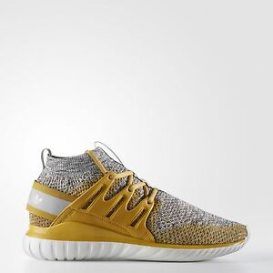 Authentic Primeknit Bb8407 grey Yellow hombre Nova Adidas para Tubular Original New tnqH0