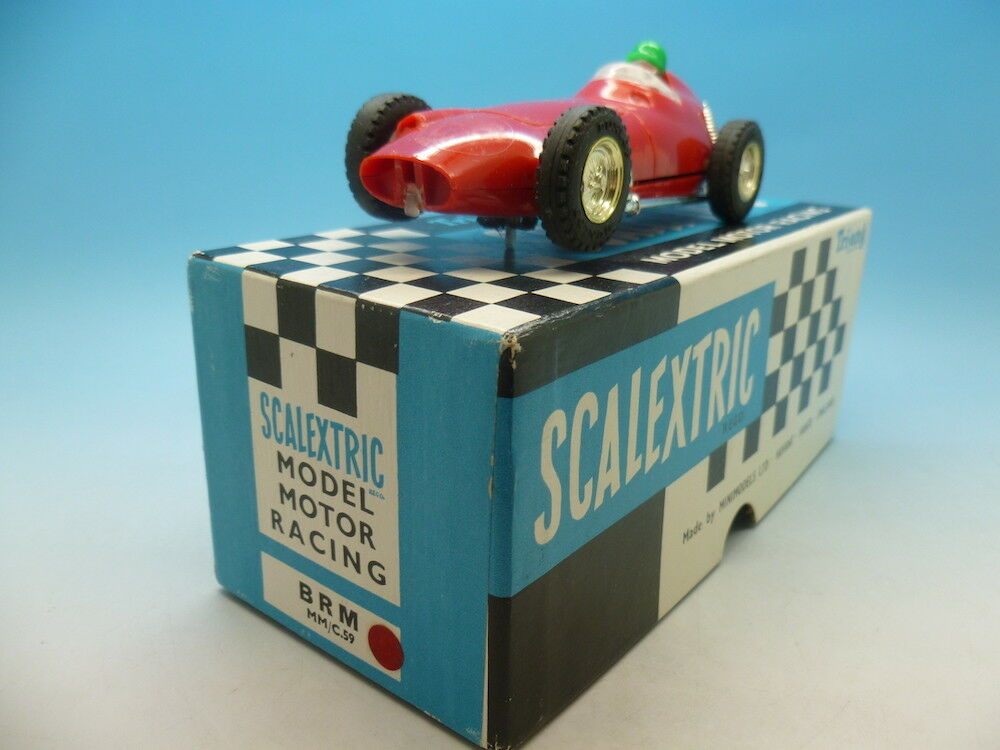 Scalextric C59 BRM in Bright Red, super condition and nice box