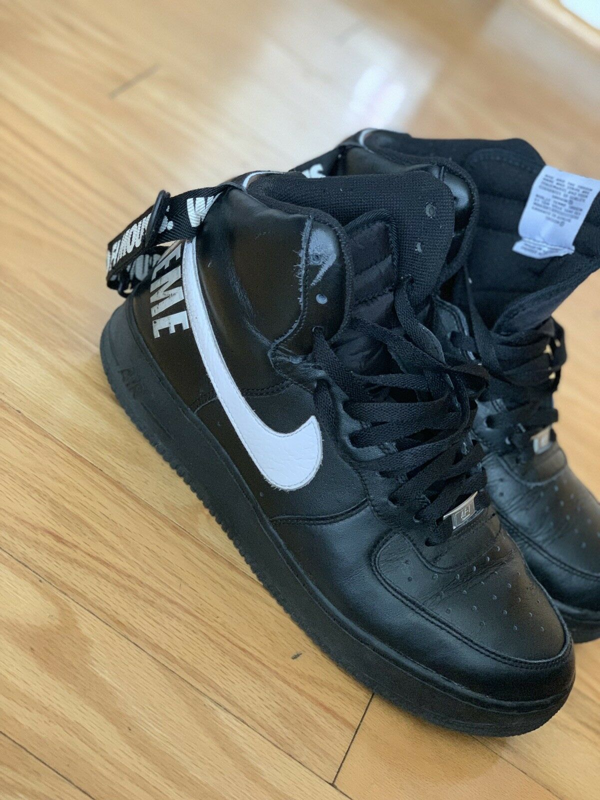 e12ef5ad39f39 Air Force One High Supreme SP Size 12 With Box Nike Pre-owned ...
