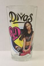 AJ Lee WWE Divas 16 oz. Pint Glass 'TOON TUMBLER NEW!!